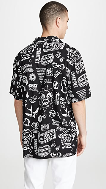 Obey Flash Woven Shirt