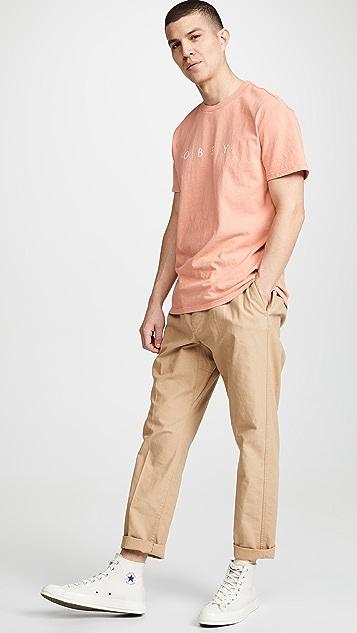 Obey Custom Heavyweight Pigment T-Shirt