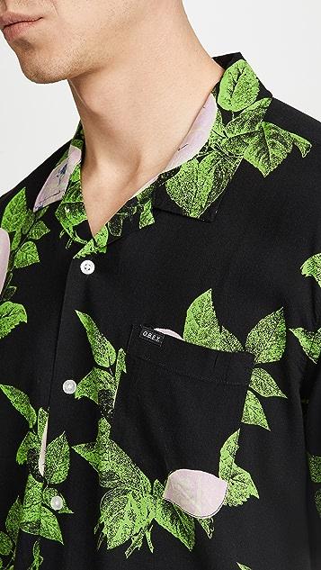 Obey Brainiac Floral Short Sleeve Shirt
