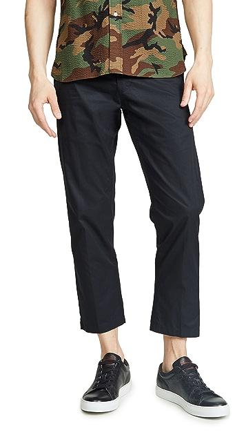 Obey Straggler Lightweight Flooded Pants