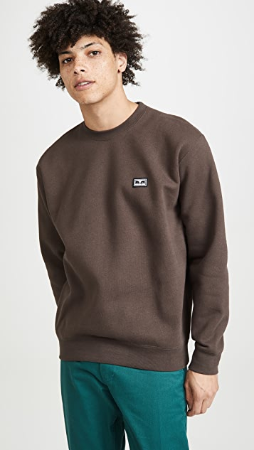 Obey All Eyez Pullover Crew Neck Sweatshirt