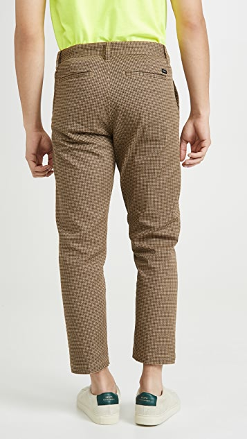 Obey Straggler Houndstooth Cropped Pants