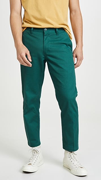 Obey Straggler Cropped Pants