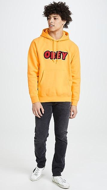 Obey Jumble Logo Hoodie