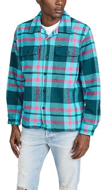 Obey Fitzgerald Heavy Plaid Overshirt