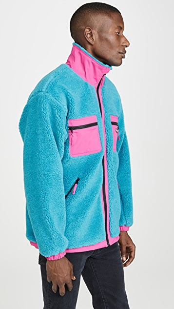 Obey Out There Sherpa Jacket
