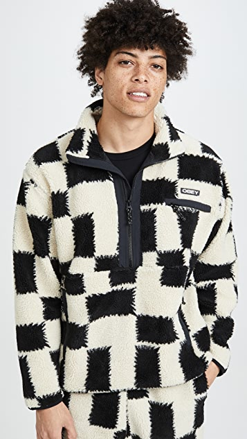 Obey Easy Echo Check Sweatshirt