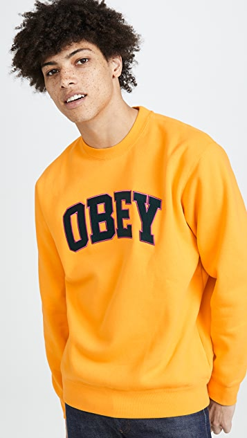 Obey Obey Sports Crew neck Sweatshirt