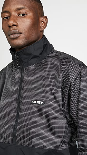 Obey Nore Pop Over Anorak