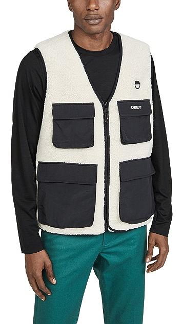 Obey Mountaineer Sherpa Vest