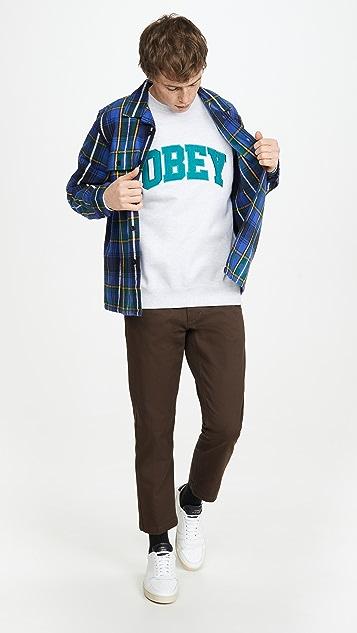 Obey Obey Uni Crew Neck Sweatshirt