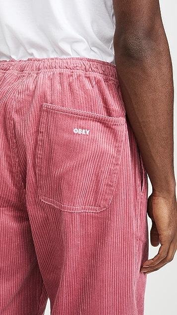 Obey Easy Big Boy Corduroy Pants