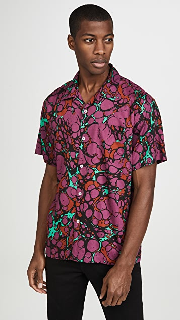 Obey Short Sleeve Botched Shirt