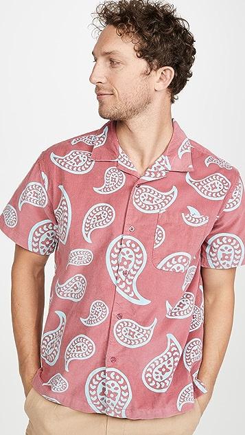 Obey Short Sleeve Domain Shirt