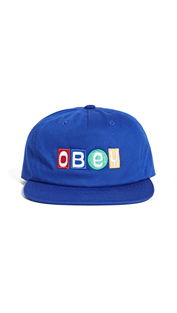Obey Lessons Snapback Hat