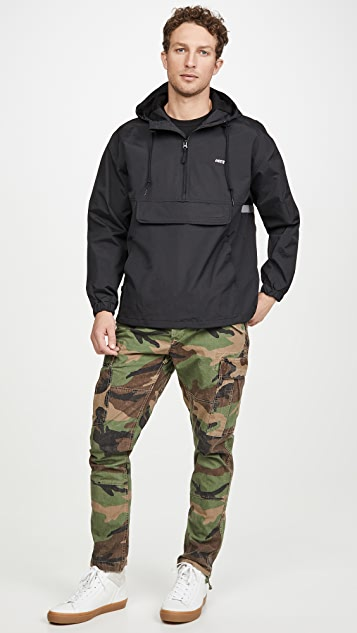 Obey ReceSS Anorak Black