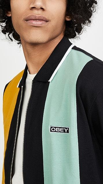 Obey Traffic Zip Polo