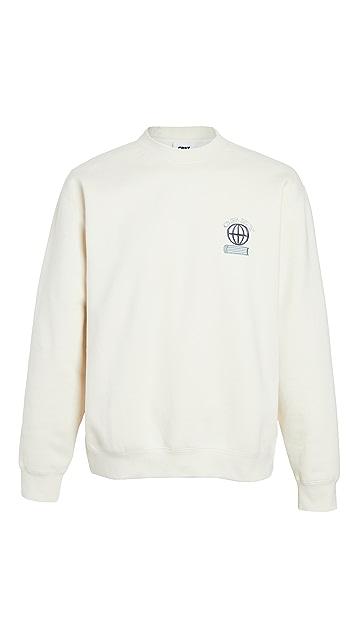 Obey Long Sleeve Knowledge Sweatshirt