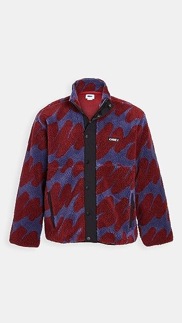 Obey Hense Sherpa Jacket