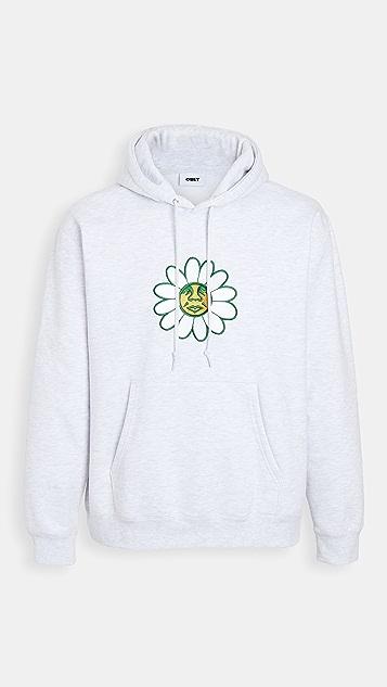 Obey Long Sleeve Hoodie Logo