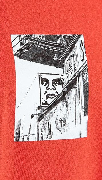 Obey Obey Street Scene Tee