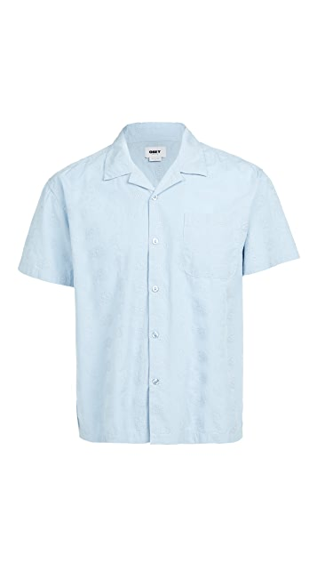 Obey Dusted Paisley Woven Shirt