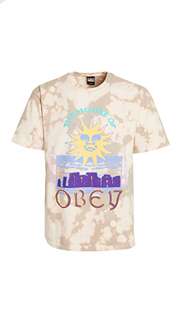 Obey The House of Obey Tee