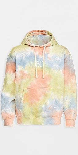 Obey - Premium Fleece Tie Dye Hooded Sweatshirt