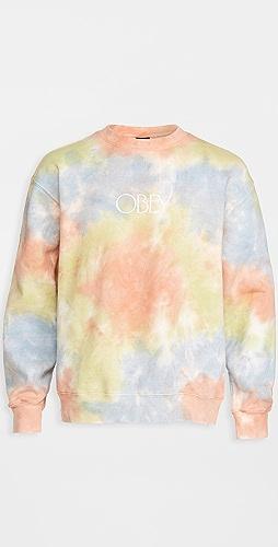 Obey - Premium Crew Fleece Tie-Dye