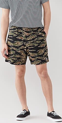Obey - Easy Relaxed Camo Shorts