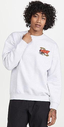 Obey - Brick By Brick Crew Sweatshirt