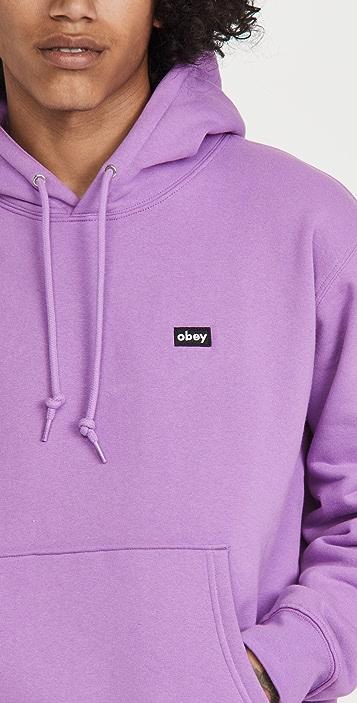 Obey Mini Box Logo Hoodie