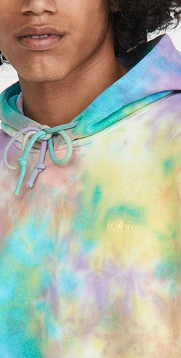 Obey Mini Bold Recycled Tie Dye Hoodie