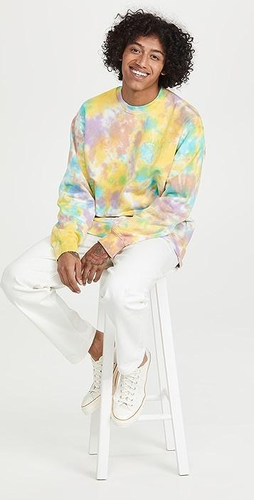 Obey Mini Bold Recycled Tie Dye Sweatshirt