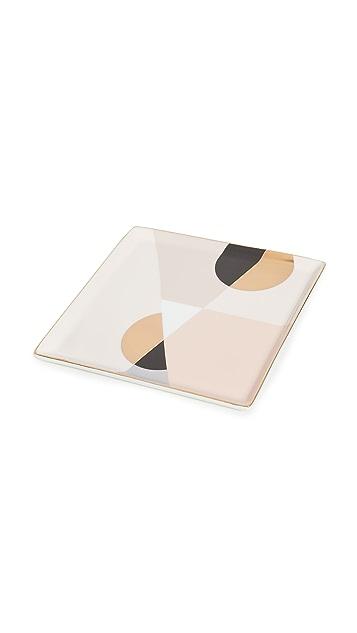Octaevo Siena Pink Ceramic Tray