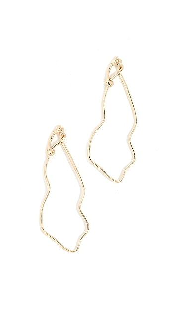 Odette New York Maquette Earrings