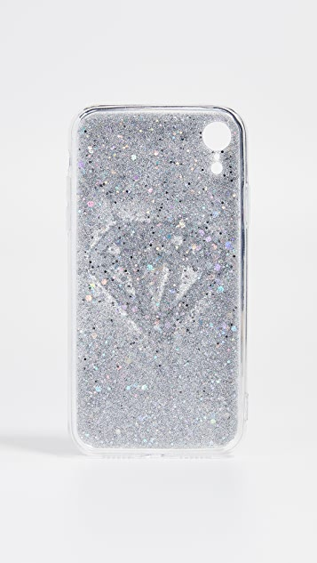 Чехол Off My Чехол для iPhone с отделкой в виде бриллианта
