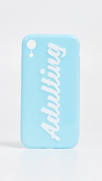 Off My Case Adulting iPhone Case