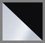 Silver Glitter/Black