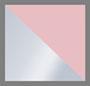 Light Pink/Silver Glitter