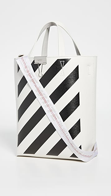 Off-White Diagonal Tote Bag