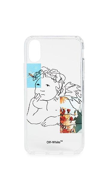 оттенок белого Чехол Angel для iPhone X