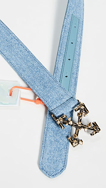 Off-White Denim Industrial Belt