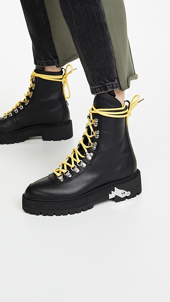 Off-White Hiking Boots | SHOPBOP