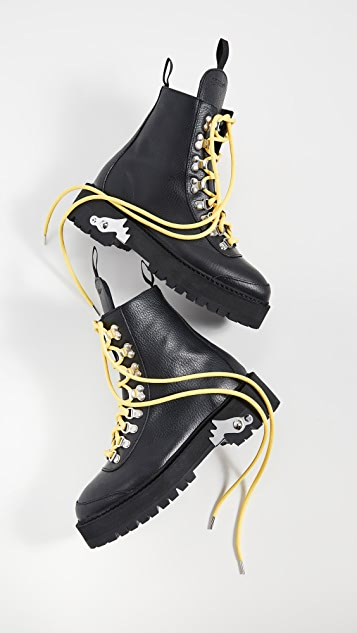 Off-White Hiking Boots