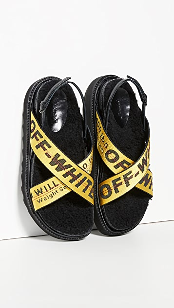 Off-White Industrial Belt Sandals