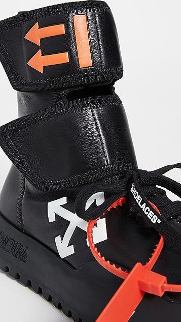 Off-White Moto Wrap Sneakers