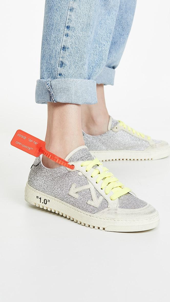Off-White Glitter Arrow 2.0 Sneakers