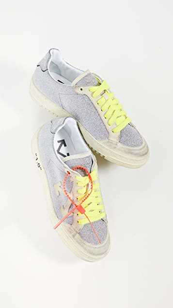 Off-White Glitter Arrow 2.0 Sneakers