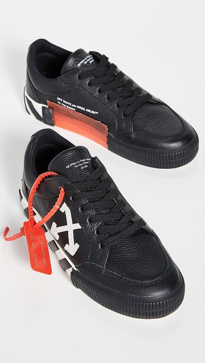 Off-White Arrow Low Vulcanized Sneakers